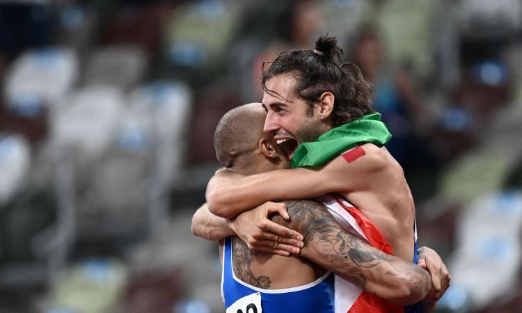 Olimpiadi: TAMBERI NELL'ALTO E JACOBS NEI 100 M, DOPPIO INCREDIBILE ORO!