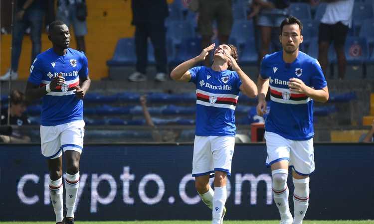 Sampdoria, le pagelle di CM: Bereszysnki e Augello indemoniati, Damsgaard non brilla