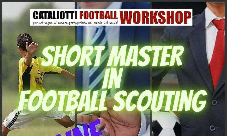 Short Master in Football Scouting: corso online con Stage di 6 mesi