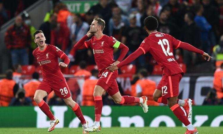 Il Milan perde con onore al rientro in Champions: 3-2 Liverpool ad Anfield