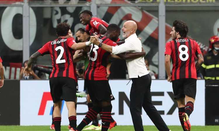 Milan-Lazio, le pagelle di CM: Tonali domina, Ibra torna a ruggire. Sarri perde la testa, malissimo Immobile