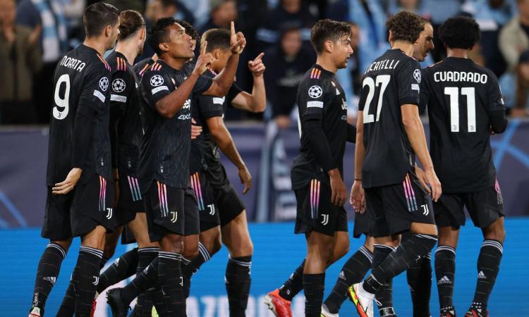 La Juve spazza via le critiche: 3-0 al Malmoe