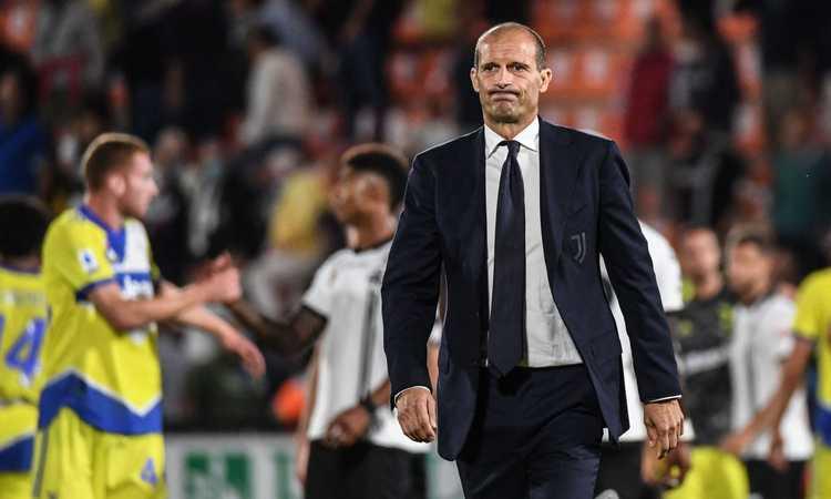 Allegri vicino alla figuraccia con lo Spezia, Juve salvata dall'orgoglio: la prima vittoria non si scorda mai