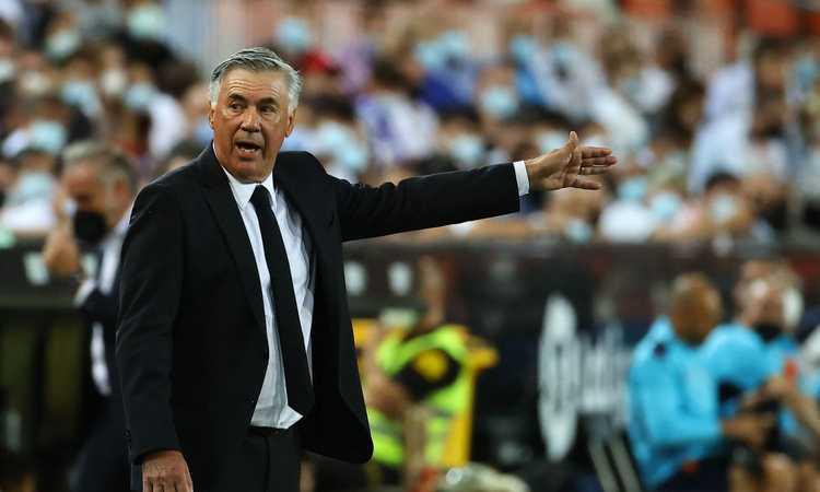 Ancelotti: 'Via da Napoli perché non c'era sintonia con la società, può lottare per lo scudetto. Felice per Brahim Diaz'