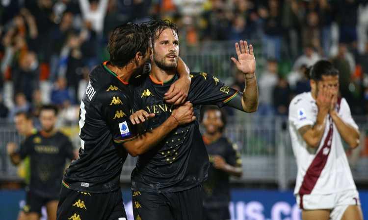 Aramu riprende Brekalo, Venezia-Torino 1-1: la classifica di Serie A