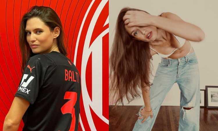 Bianca Balti e il Milan: 'In Curva Sud da ragazzina scavalcando. Non sono diventata milanista, ci sono nata!'