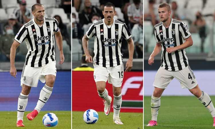 De Ligt, Bonucci, Chiellini: Juve, ora anche la difesa è un problema serio. E quegli 80 milioni…