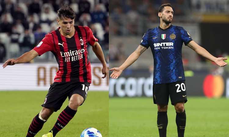 Milan-Inter, Brahim Diaz ha fatto cambiare idea a Pioli: il confronto con Calhanoglu