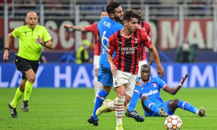 Milan-Atletico Madrid, le pagelle di CM: Diaz e Leao impressionano, errore fatale di Florenzi. Kessie è un caso