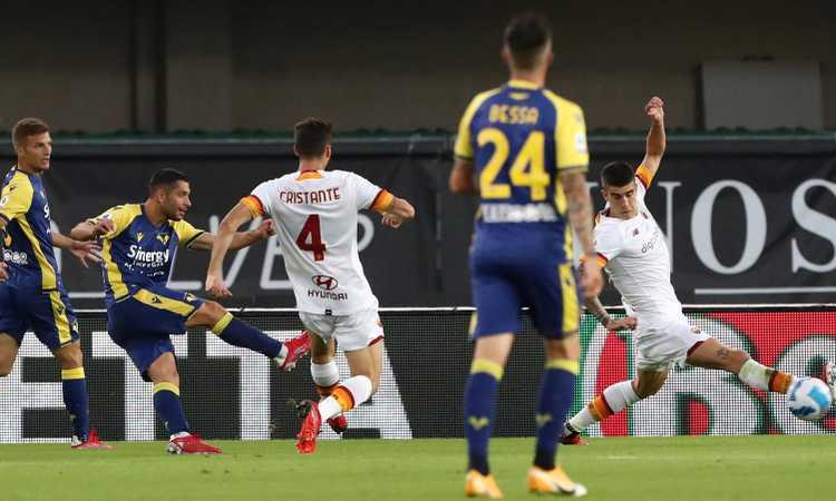 Magic Pellegrini non salva un Mourinho deludente. Vince il Verona, ma è di Tudor o di Di Francesco?