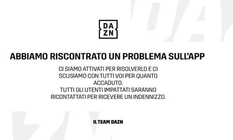 Ancora grossi problemi per Dazn: sito non accessibile e app in panne. Utenti furiosi: 'Ora basta!', arrivano le scuse: 'Rimborseremo'