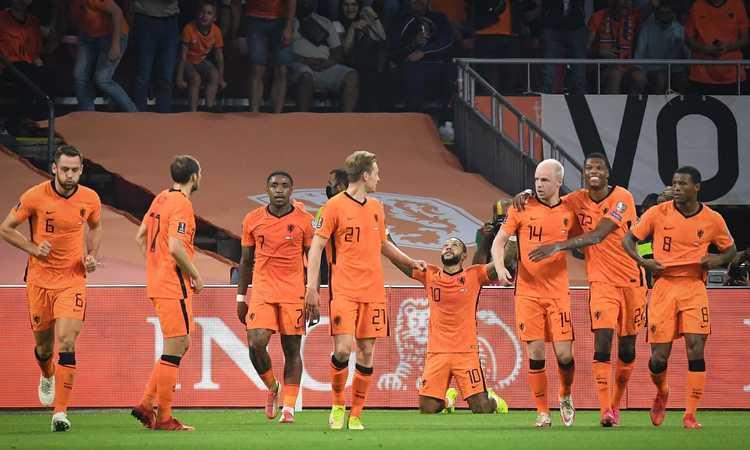 Qual. Mondiali: riparte la Francia, l'Olanda distrugge 6-1 la Turchia. La Danimarca con Kjaer fa 6 su 6