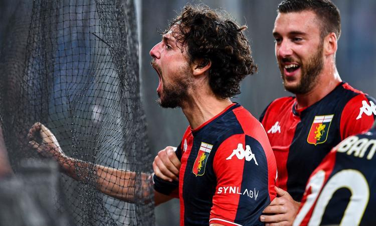 Kalinic beffa il Genoa al 91° e vanifica la doppietta di un super Destro: l'Hellas Verona strappa il 3-3