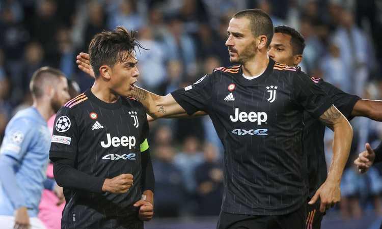 Malmoe-Juve, le pagelle di CM: Bonucci leader, Morata scatenato