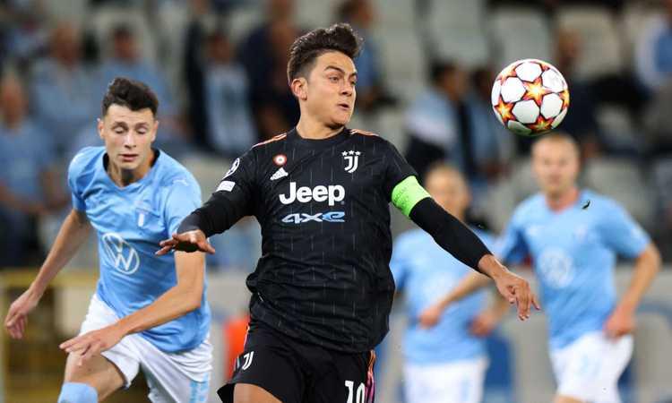 Champions League: i numeri di Malmoe-Juventus VIDEO