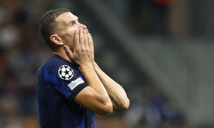 Inter, crea tanto ma segna poco: 26 tiri e solo 2 gol. Ora Dzeko rischia il posto
