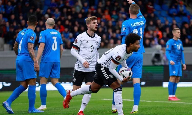 Qualif. Mondiali 2022: Germania, Spagna e Belgio ok. Inghilterra beffata al 96'. Svizzera, favore a Mancini