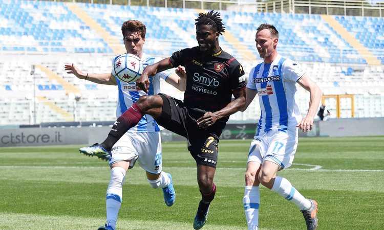 Ex Lazio, UFFICIALE: Gondo torna alla Salernitana. La Figc aveva aperto un'inchiesta
