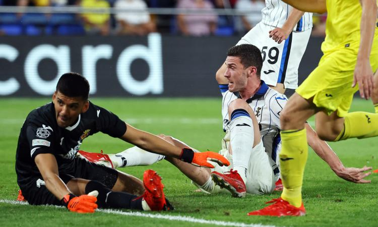 Atalanta, 2-2 col Villarreal: apre Freuler e chiude Gosens
