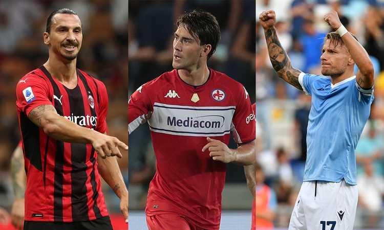 Addio a Ronaldo e Lukaku: da Immobile a Vlahovic e Ibra, chi è il bomber più forte della Serie A? VOTA