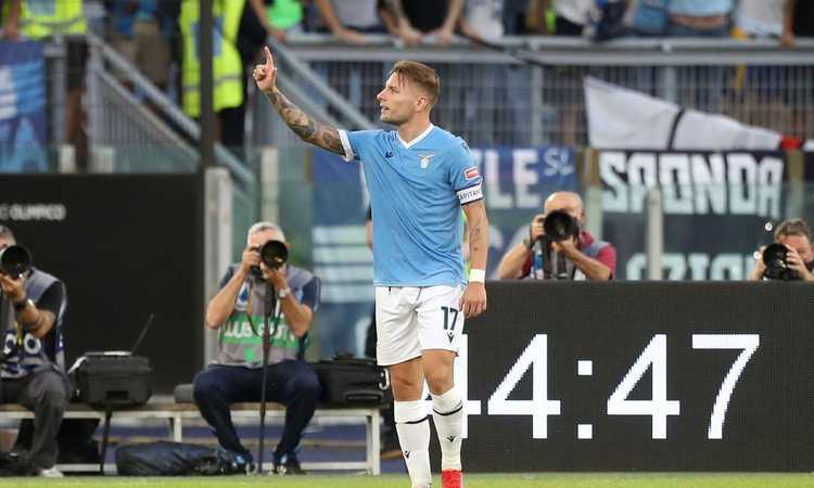 Lazio, Sarri sorride a Formello: Immobile e Zaccagni in gruppo