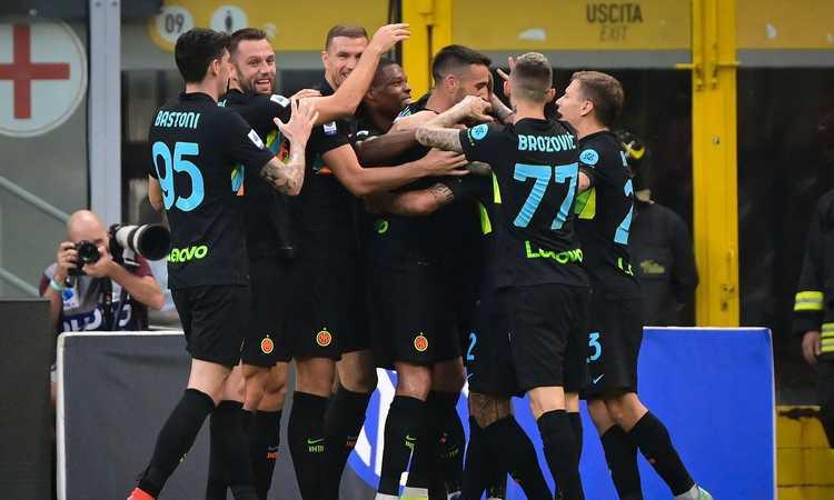 L'Inter si rialza dopo il Real, 6-1 da urlo al Bologna: Inzaghi è primo