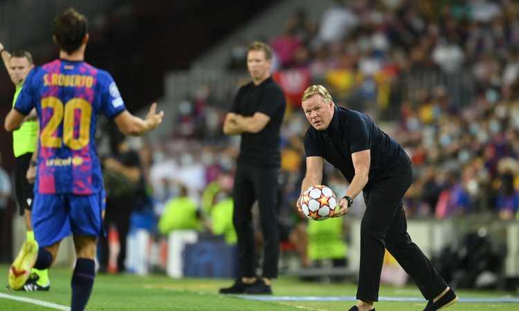 Barcellona, summit d'urgenza dopo il ko col Bayern: dubbi su Koeman