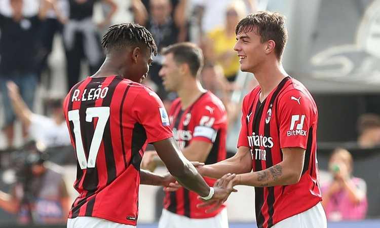 Maldini e Diaz affondano lo Spezia: il Milan vince 2-1 e sale in testa alla classifica