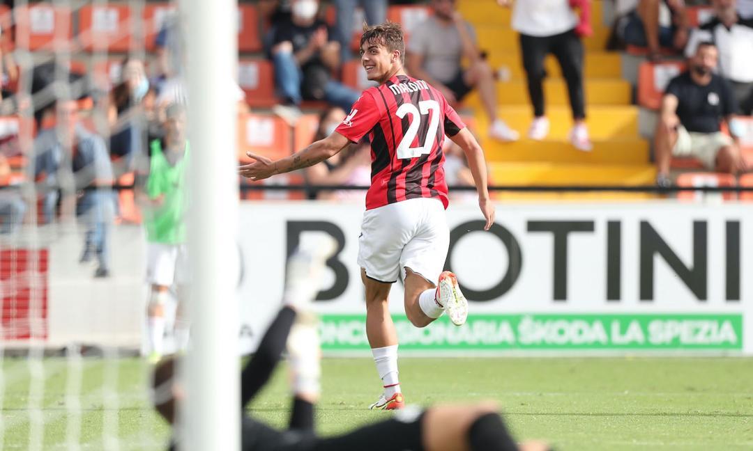 Lo Spezia spreca carburante, il Milan no e vince 1-2