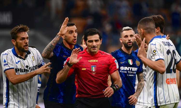 Inter-Atalanta, rivivi la MOVIOLA: mani Demiral, è rigore. Il Var toglie un gol all'Atalanta