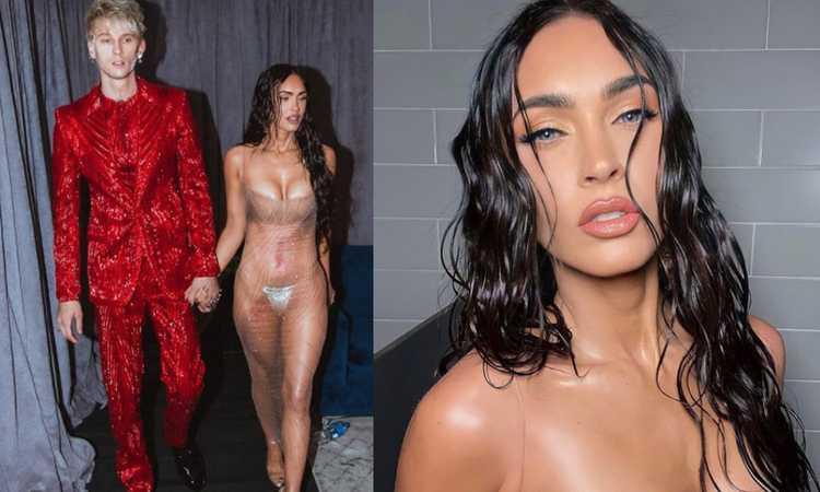 Megan Fox che trasparenze sul palco dei Video Music Awards! FOTO Il suo fidanzato fa infuriare Conor McGregor