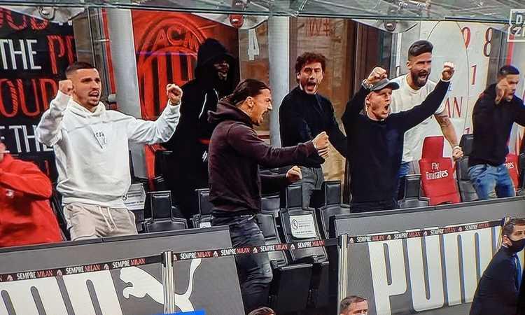 La pagella: Ibra, Bakayoko, Calabria, Kjaer. Il Milan in tribuna era da 8, ma quando tornano?