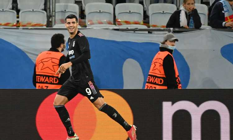 E' la Juve di Dybala, ma è Morata che la trascina: i gol, la Champions, il riscatto