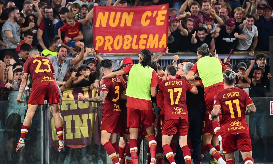 Roma, una vittoria tutta per Mou
