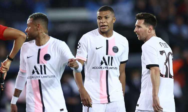 PSG, la prima di Messi-Mbappé-Neymar è un flop
