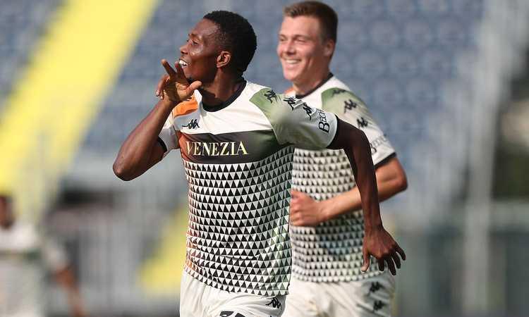 Venezia, Okereke alla Weah racconta il gol: 'Ho fatto tutto da solo!'