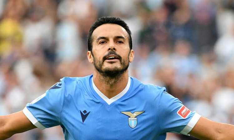Tris della Lazio, il derby è biancoceleste: 3-2 alla Roma, in gol anche l'ex Pedro