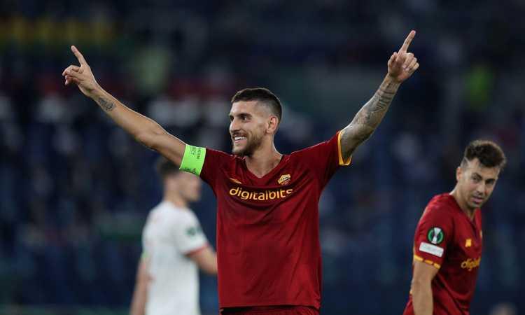 La Roma soffre per un tempo, poi dilaga: 5-1 al Cska Sofia, doppietta per Pellegrini