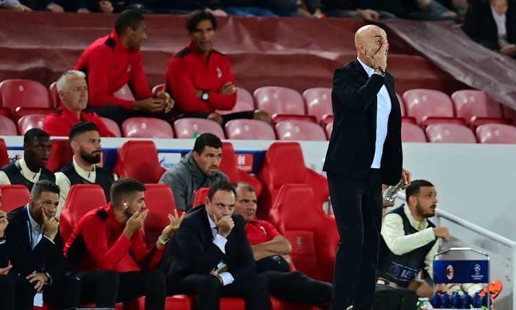 Milan, Pioli: 'Gran gara del Liverpool, un ko che ci farà crescere. Siamo stati troppo statici, il mio rimpianto è...'