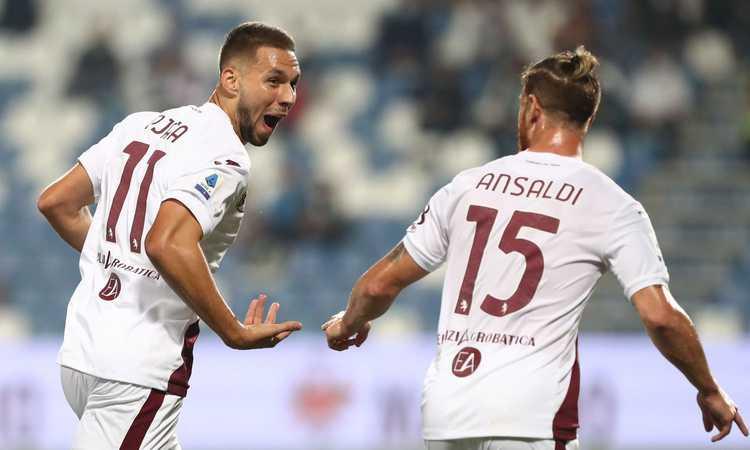 Pjaca fa volare il Torino: 1-0 in casa del Sassuolo