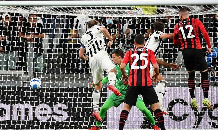 Il Milan recupera la Juve 1-1 e la rimanda -8. Allegri domina a lungo, ma è senza vittorie in zona retrocessione