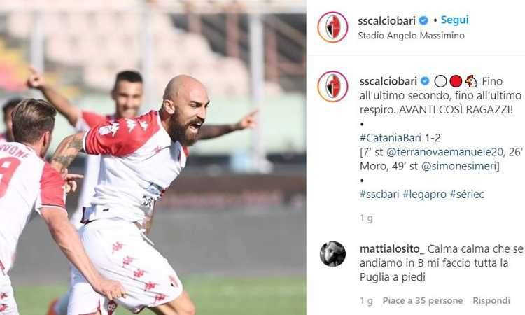 Gli ex Milan e Inter Di Gennaro e Botta, le garanzie Simeri e Antenucci: Bari corazzata costretta a vincere. E lo farà