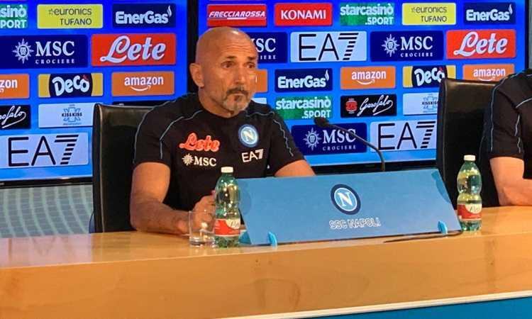 Napoli, Spalletti: 'Scudetto? Non ci nascondiamo, ma siamo sette in corsa. Mertens e Demme a disposizione'