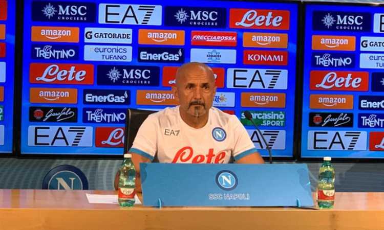 Napoli, Spalletti: 'Non snobbiamo l'Europa League. Niente turnover, su Insigne...'