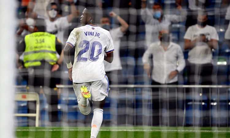 Real Madrid, Vinicius jr: 'Ancelotti tira fuori il meglio di noi'