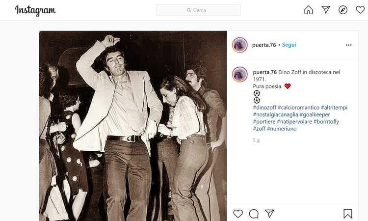 La notte in cui ho danzato con Dino Zoff intorno al falò del quindicesimo scudetto