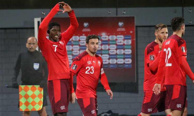 Qual. Mondiali: poker Svizzera, aggancio all'Italia. 5-0 Portogallo, Danimarca fa 8 su 8 e vola in Qatar. Vlahovic lancia la Serbia