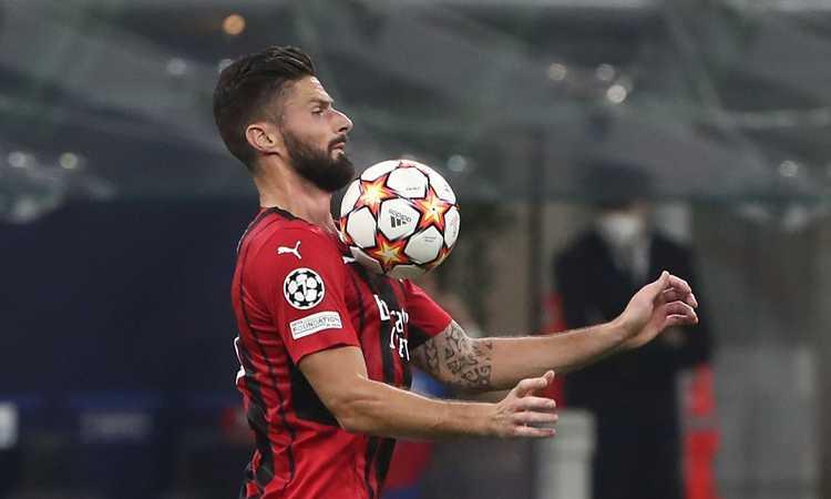 Milan, Giroud di nuovo a disposizione: la scelta per il Verona e il 'fattore Ibra'