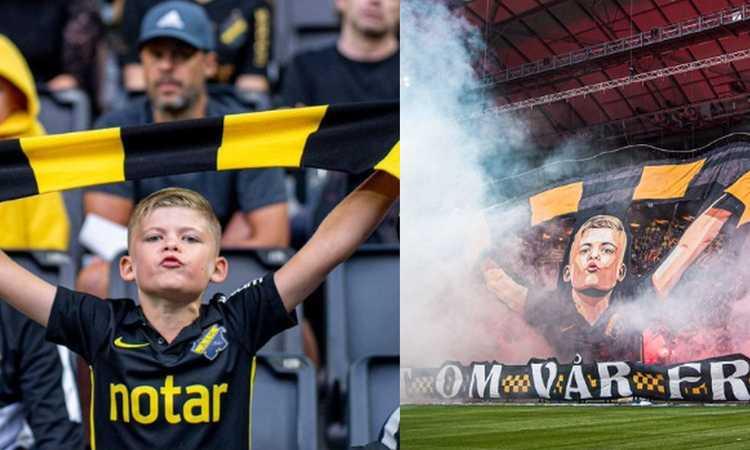 Momenti Di Gioia, in Svezia a 9 anni protagonista della coreografia dell'AIK: 'Proteggiamo la storia, il nostro futuro'
