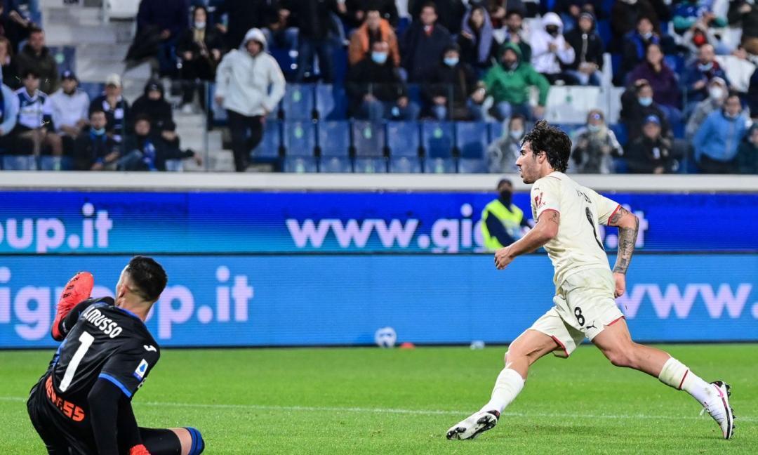 Milan in gol con 3 punte, passa al 4-4-2: Dea e DAZN KO